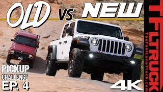 Watch a 30-Year-Old Jeep Comanche Spank a New Gladiator Off-Road! Cheap Jeep Challenge S2 Ep.4