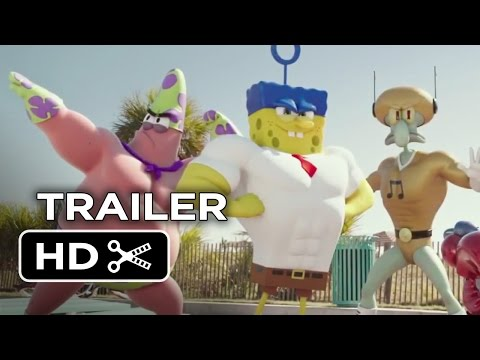The Spongebob Movie: Sponge Out Of Water Official Trailer #1 (2015) - Animated Movie Hd video