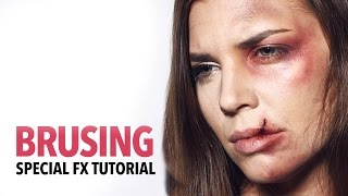 Bruising fx makeup tutorial