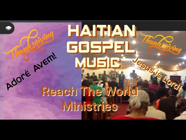 Haitian Gospel Music, Best Haitian Worship Medley, Le M Pale a Bondye Li Tande, Haiti Akolad Video