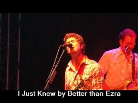 Better Than Ezra - I Just Knew