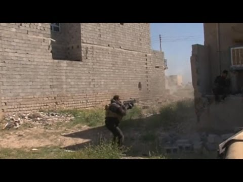 Iraq forces booting ISIS from Tikrit street-by-street