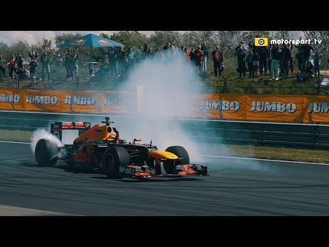 Sfeerimpressie Max Verstappen tijdens Jumbo Racedagen 2017