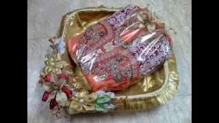 Trousseau packing trays sweet packing  ring trays platters  from  ranjanaarts
