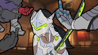 Overwatch Funny & Epic Moments - Genji Mains in a Nutshell - Highlights Montage 166