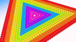 Learn Colors with Triangle Cookies