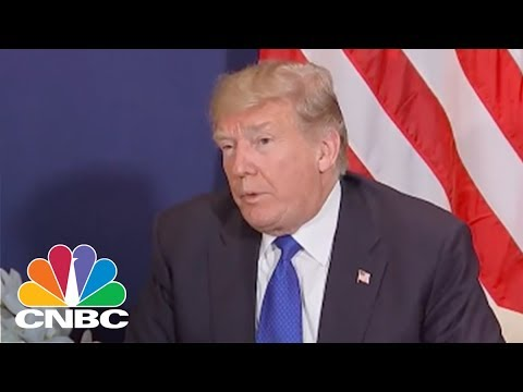 President Donald Trump: I Have A Great Relationship With Prime Minister Theresa May | CNBC