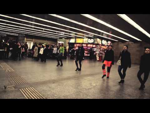 St. Patrick's Day Wien Flashmob 2013