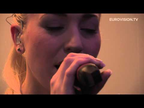 Margaret Berger - I Feed You My Love (Norway) First Rehearsal