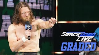 "WWE SmackDown Live: GRADED (16 July) | Daniel Bryan's ""Big Announcement"", Shane's Town Hall Meeting"