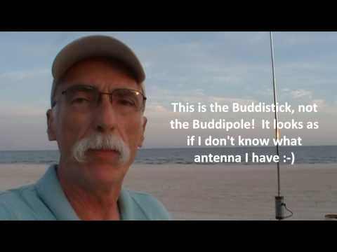 Icom 703+ and Buddistick:  MS to PA QSO