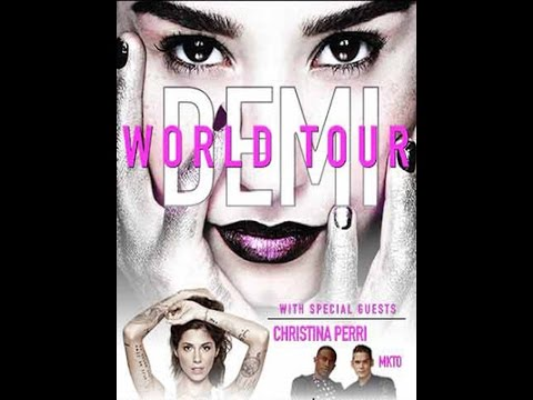 Demi Lovato - RDC/The Middle/Fire Starter/Remember December/Heart Attack - Demi World Tour