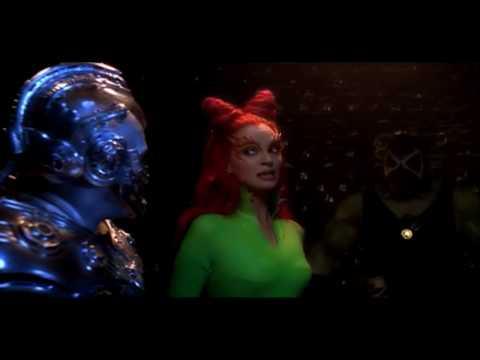 Poison Ivy Helps Mr Freeze Escape From Arkham Asylum (HD Clip)