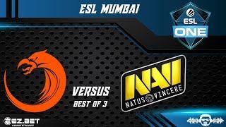 TNC Predator vs Navi | ESL Mumbai | Group Stage | Best of 3 | Group A