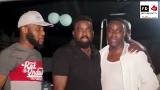 Femi Adebayo & Kunle Afolayan Sang Barrister Song in act of remembrance