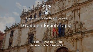 Graduación del Grado en Fisioterapia · 21/06/2018