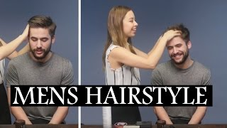 5 Hairstyle Hacks Every Guy Should Know Mens Hair Tips And Hacks