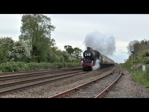 GWR 5029 Nunney Castle THE ANNIVERSARY LIMITED 9th May 2014