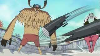 Chopper uses Cloven Rose, Palm vs Dosun - One Piece Episode 566 [720p HD]