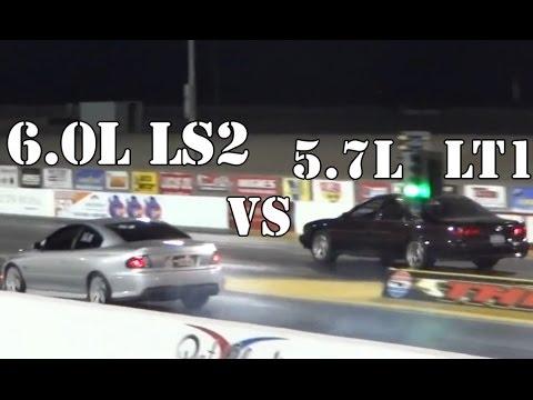 2005 Pontiac GTO vs 1996 Impala SS LT1