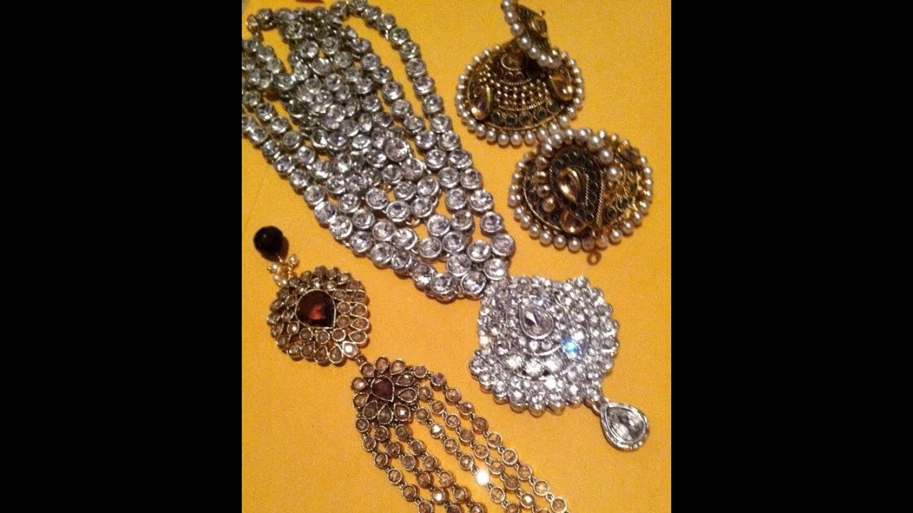 Indian Hand Jewelry Indian Jewelry Haul Amp Review