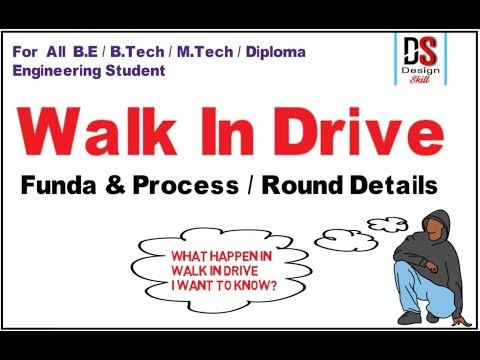 Walk In Drive_ Process Step By Step Explain_ for All Engineering Student
