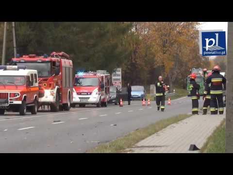Wypadek W Andrychowie