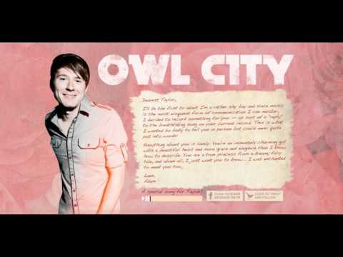 Owl City - Enchanted By Taylor Swift video