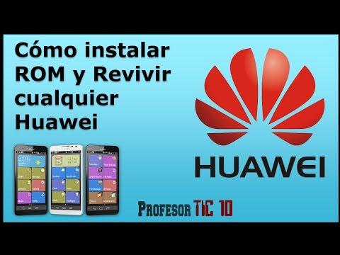 Cómo instalar ROM y revivir cualquier Huawei | Instalar ROM (firmware) Huawei Y300-0000 Chino MEGA