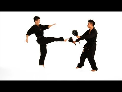 How to Do a Double Roundhouse Kick | Taekwondo Training Image 1