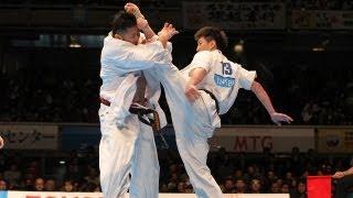 新極真会 第42回全日本選手権大会4回戦1 Shinkyokushinkai Karate