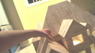 Popsicle Stick Mansion Tour