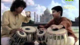 Wah Taj Ad featuring Ustad Zakir Hussain and Aditya kalyanpur 1990