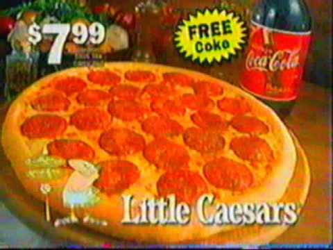 Funny Little Caesars commercial (1998)