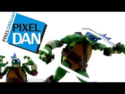Revoltech Teenage Mutant Ninja Turtles Leonardo Figure Video Review