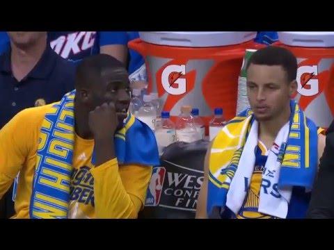 Golden State Warriors vs Oklahoma City Thunder R3G3 | May 22, 2016 | NBA Playoffs 2016