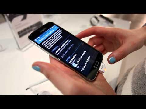 Samsung Galaxy S5 - przegląd, pierwsze wrażenia z MWC 2014 (tabletowo.pl)