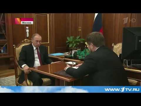 Путин и Рамзан Кадыров