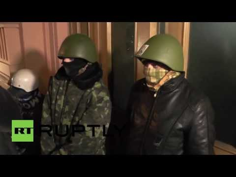 Ukraine: Protesters seize Ministry of Justice building