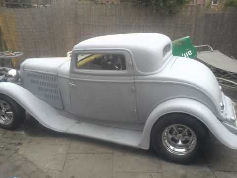 1932 ford 3 window coupe unfinished project for sale youtube for 1932 5 window coupe kit cars