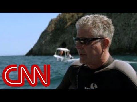 Sicily: Strangest snorkel trip ever? (Anthony Bourdain Parts Unknown, Italy)