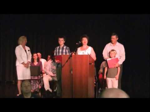 McCleskey Middle School Awards - Spencer Mason