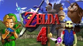 Let's Play The Legend of Zelda Ocarina of Time Part 4: Schloss Hyrule