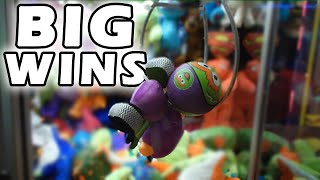 Big Claw Machine Dug Up Wins! | Journey to the Claw Machine | Matt3756