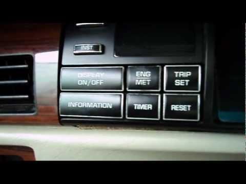 1994 Deville: Driver Information Center RPM. Engine Coolant. Battery Voltage Setup