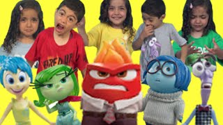 INSIDE OUT TOY UNBOXING | ALL MOVIE CHARACTERS | Surprise Toys | Toy Play Videos | Kiddyzuzaa