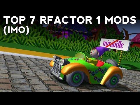Top 7 rFactor 1 Car Mods (IMO)