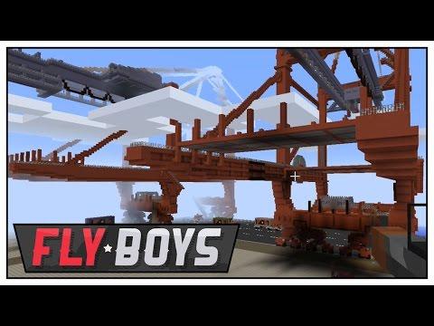 Minecraft Mods Flyboys - CTF SKIRMISH - E70 (Minecraft Multiplayer War)   Pungence