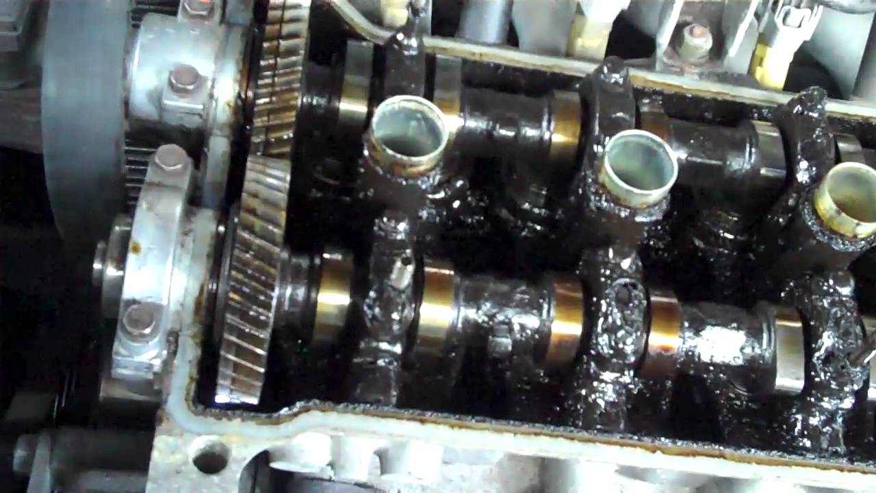 Toyota Corolla 4efe Seized Cam Shafts Youtube