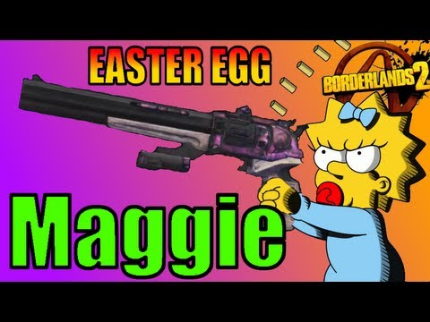 Borderlands 2 : Easter Egg How to Get Maggie Legendary Weapon